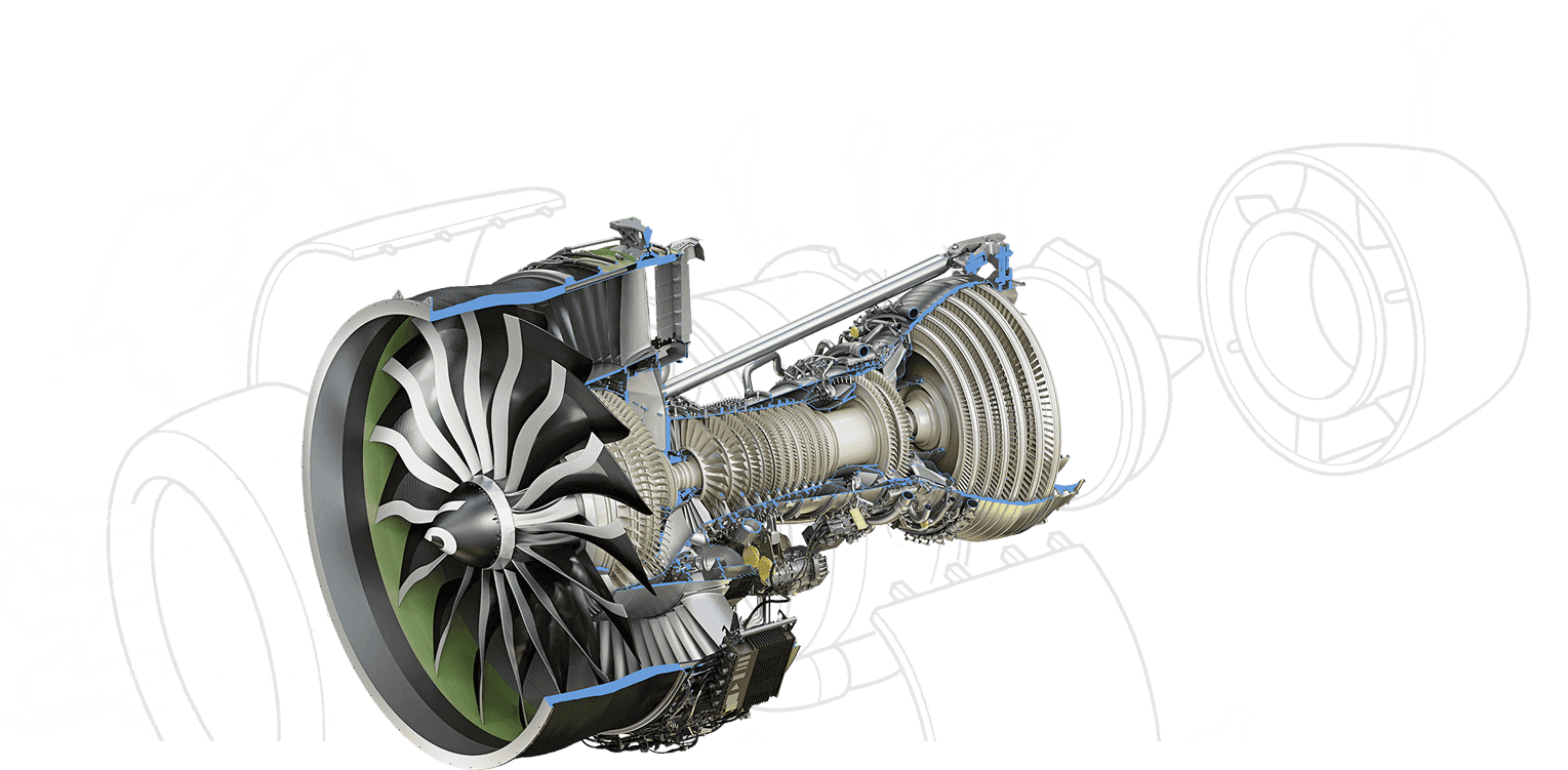 Aircraft Jet Engines & Components Parts